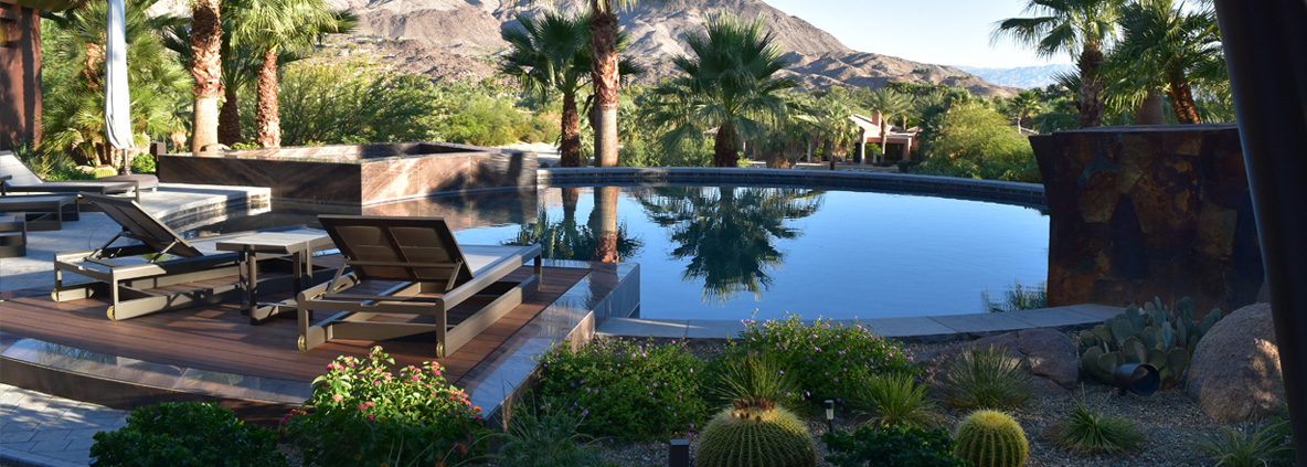 Luxury pool builder san diego custom pools palm desert for New pool construction